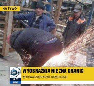 PROFIL SZKOLENIA WSTĘPNE I OKRESOWE BHP ANDRYCHÓW KĘTY WADOWICE przedstawia pracę niezgodną z BHP pracownika na stanowisku elektryk