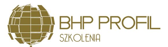PROFIL SZKOLENIA BHP