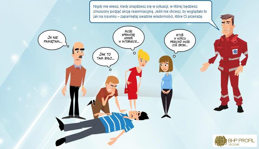 zasady pierwszej pomocy, pierwsza pomoc I pomoc bhp andrychów kęty wadowice czaniec