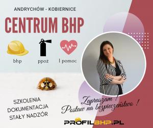 profilbhp.pl andrychów szkolenia bhp wstepne okresowe ocena ryzyka zawodowego audyt przedsiębiorca mądry